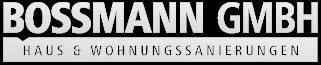 sanieren in Augsburg | Bossmann GmbH Logo
